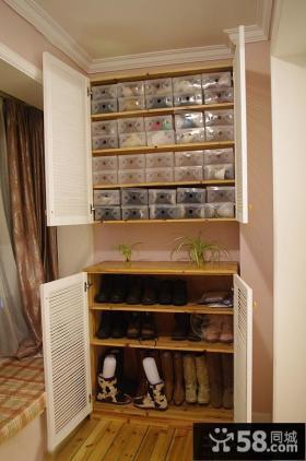家居鞋柜设计图