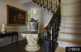 欧式古典别墅楼梯设计