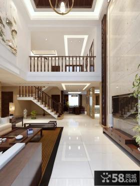 复式楼室内楼梯装修效果图欣赏