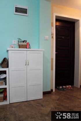 门口玄关鞋柜设计效果图