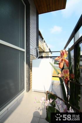 2015北欧家装设计阳台图片欣赏