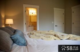 古典美式风格卧室装修效果图大全2014图片