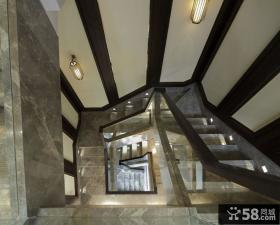 新中式家装楼梯设计
