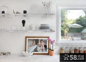 小户型美式风格客厅装修效果图大全2014图片