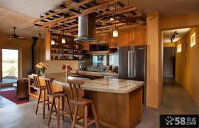 美式家装设计室内餐厅吊顶图片