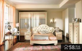 欧式风格卧室设计图2014