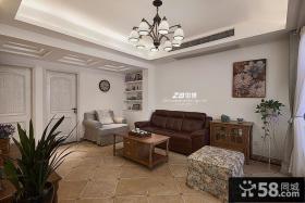 美式风格住房客厅装修图