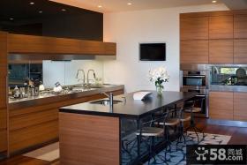 现代简约风格客厅餐厅一体化装修样板