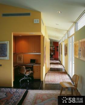 美式现代风格餐厅装修效果图