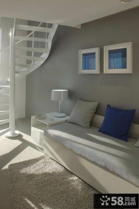 简约风格80平米两室一厅装修效果图