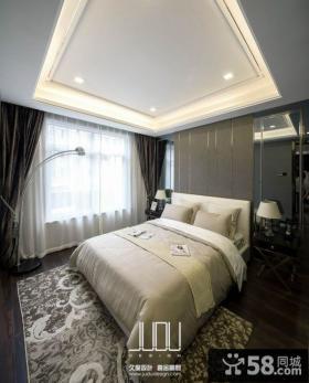 美式新古典风格时尚卧室图片