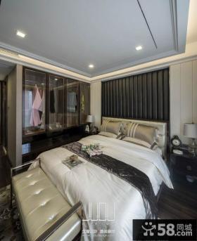 美式新古典风格卧室设计图片