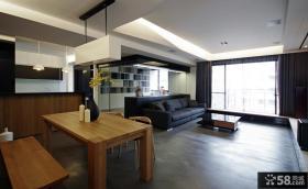 现代风格室内餐厅装修效果图大全2012图片