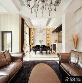 300平新古典主义排屋别墅装修案例