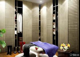 卧室组合衣柜装修设计图片欣赏