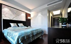 美式乡村风格别墅家居卧室效果图欣赏