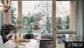 北欧风格整体阳台展示