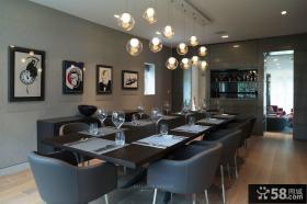 日式风格室内餐厅图片欣赏