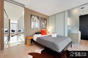 简约风格卧室装修效果图大全2012图片 卧室窗帘图片