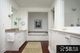 小复式装修 卫生间装修效果图大全2012图片