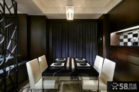 90平现代风格二居室装修图片