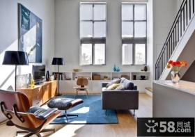 小复式楼装修效果图 2013客厅装修效果图