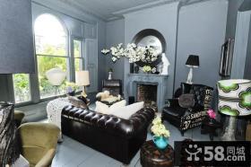 欧式别墅装修效果图 别墅客厅装修效果图大全2012图片