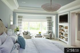 欧式主卧室装修设计图