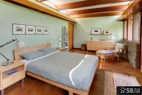 美式风格客厅样板房