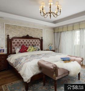 现代美式别墅卧室装修图欣赏