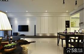大客厅电视墙装修效果图大全2013图片