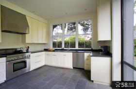 简欧厨房装修效果图大全2012图片