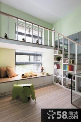 田园loft小户型客厅效果图