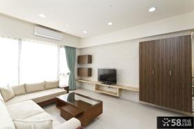 最简单客厅电视墙装修图片