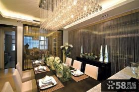 豪华室内西餐厅设计效果图欣赏大全