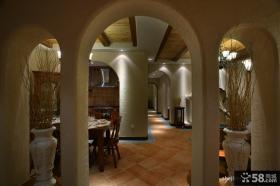 家装餐厅过道吊顶装修效果图