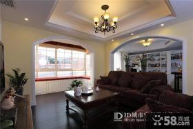 美式风格别墅客厅装修图