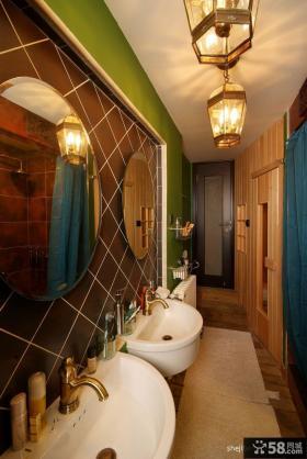 小复式楼卫生间装修效果图 复式楼装修样板间