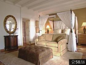 欧式主卧室装修效果图大全2013图片