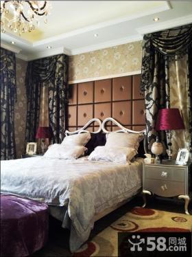 欧式卧室床头软包背景墙效果图大全