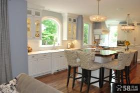 U型日式厨房装修效果图大全2012图片 十张优质厨房效果图