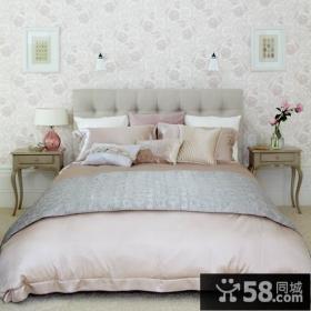 简约风格打造三居卧室背景墙装修效果图大全2014图片
