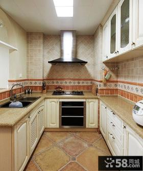 古典美式风格家居厨房装修图
