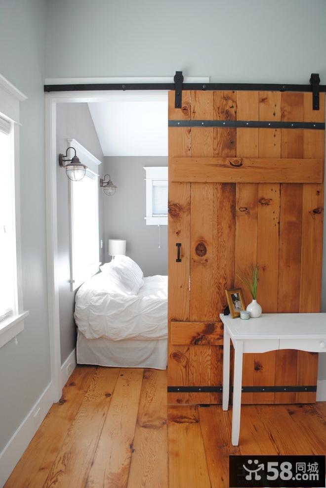 卧室推拉门装修效果图