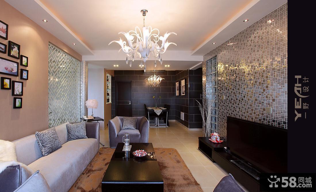 客厅吊顶造型效果图