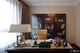 优质新古典风格书房装修效果图片