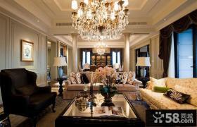 欧式风格豪华客厅装修设计效果图