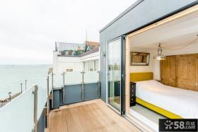 卧室对出阳台设计
