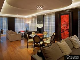 现代公寓卧室装修效果图