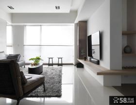 现代设计130平米四居室欣赏
